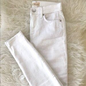 Gap White True Skinny Jeans